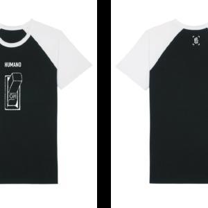 Camiseta Cather Short HNR005-BlackWhite