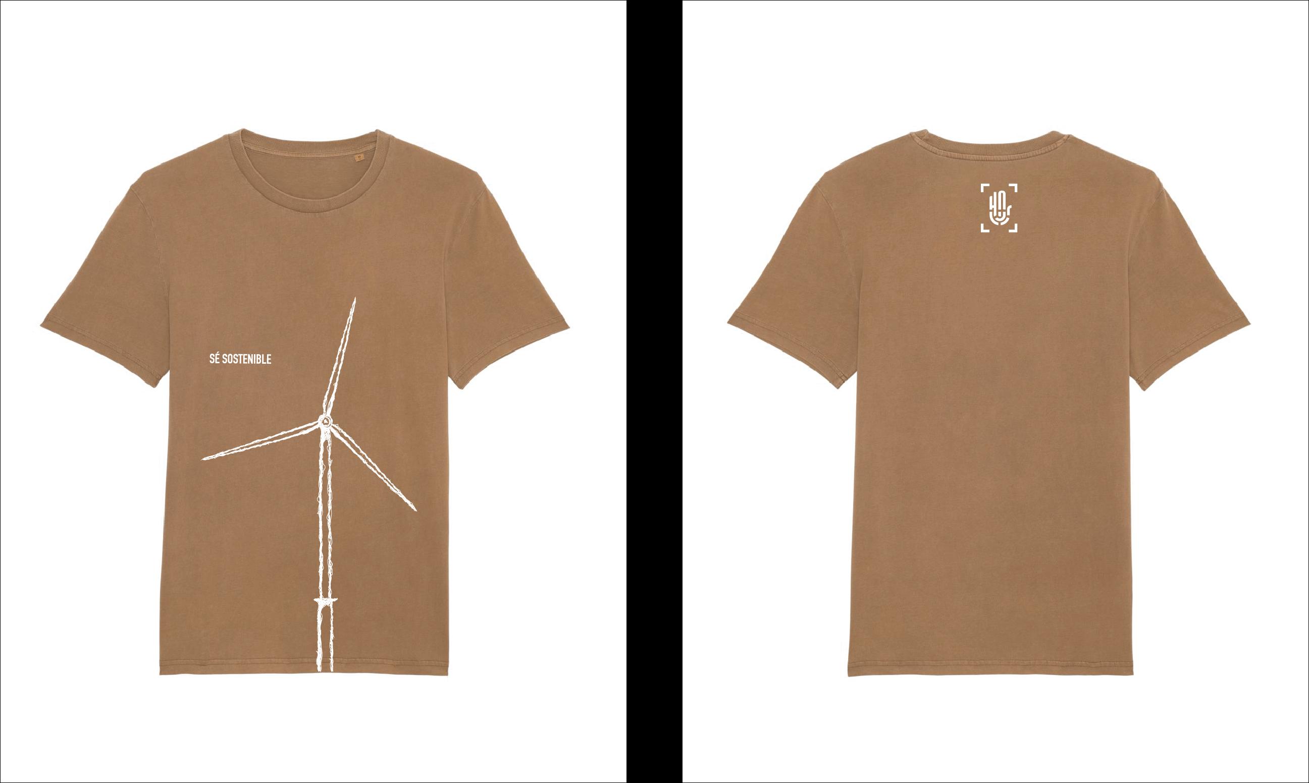 Camiseta Creator Vintage HNR003-Dyed Caramel